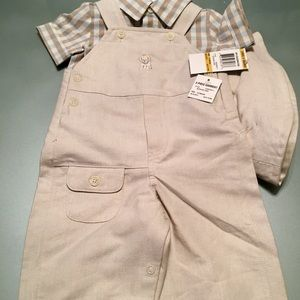 NWT: 3-Piece Set: First Impressions Overalls